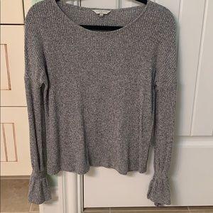 Lucky Womens Bell Sleeve Sweater